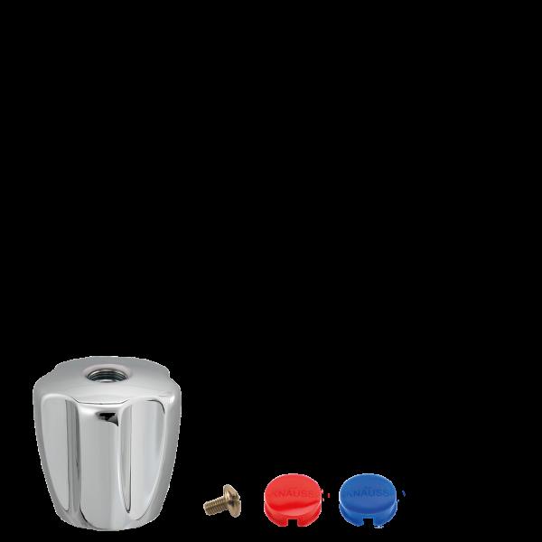 Pentachrom-Metallgriff mit Schraube und Farbplaettchen